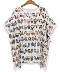 Lesara T-shirt oversized imprimé