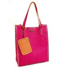 DOCA Elegantní fashion kabelka 07520 - 2v1