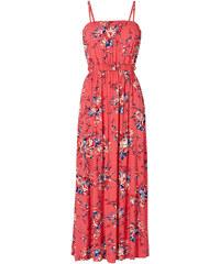 BODYFLIRT Kleid mit Gürtel ohne Ärmel in pink von bonprix