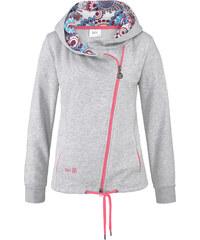 bpc bonprix collection Langarm-Sweatjacke in grau für Damen von bonprix
