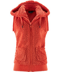 bpc bonprix collection Basic Fleece-Weste ohne Ärmel in rot für Damen von bonprix