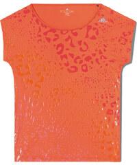 adidas CLIMA TRAINING GRAPHIC TEE oranžová S