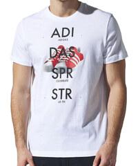 adidas SST SHOE TEE bílá M