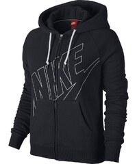 Nike RALLY FZ HOODY-LOGO černá L