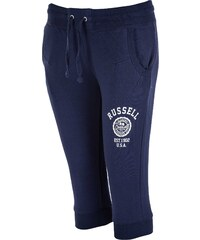 Russell Athletic 3/4 PANT VARSITY ROSETTE tmavě modrá XS
