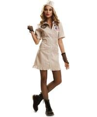 Kostým Lady Top Gun Velikost M/L 42-44