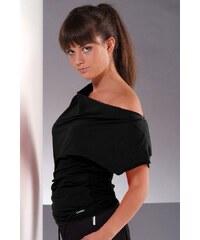 Fitness tričko Atena II black