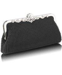 LS Fashion společenská kabelka LS0047 černá