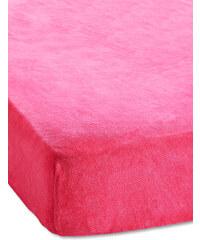 bpc living Spannbettlaken Nicki in pink von bonprix