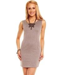 f5471894cf57 Dámske šaty Styled in Italy sivé