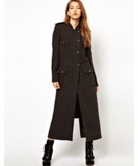 Kore by Sophia Kokosalaki - Trenchcoat aus Recycling-Wolle - Schwarz