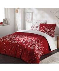Home Linen Parure housse de couette 100% coton FLANELLE - Voie lactée 140x200 cm + 1 taie d'oreiller 65x65 cm