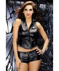 Souprava Biker vest + shorts - Obsessive