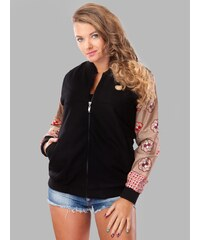 Arriba Wear EthniCity Ladies Varsity Jacket #1 Black