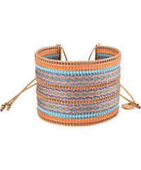Mishky Bracelet Collage Turquoise Orange Copper