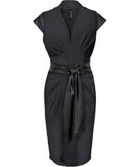 BODYFLIRT boutique Kleid/Sommerkleid in schwarz von bonprix