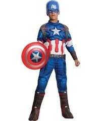 Rubies Captain America Deluxe Avengers 2 Child - L 8 - 10 roků