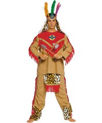 Stamcos Indiánský kostým APATSI LEADER