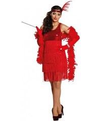 Rubies Charleston Girl červené šaty - 34