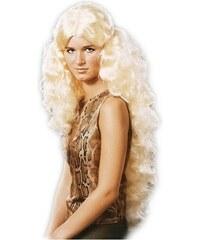 Anděl s flitry - dlouhé vlasy blond - zlatá