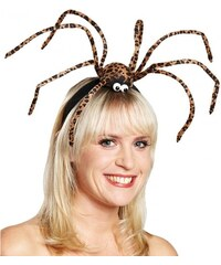 Spona s obřím pavoukem
