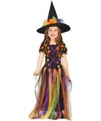 Fiestas Guirca Malá čarodějnice - kostým - 10 - 12 roků