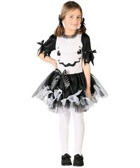 Fiestas Guirca Dívčí šaty TUTU duch - 10 - 12 roků
