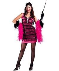 Fiestas Guirca Charlestonové šaty pink - 42 - 44