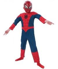 Rubies Ulimate Spider Man Dlx - licenční kostým - LD 7 - 8 roků