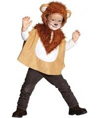 Rubies Dětská pelerína s kapucí - lvíček - 104
