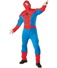 Rubies Kostým Spiderman Muscle Chest - licence - STD 48 - 54
