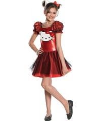 Rubies Hello Kitty - licenční kostým - L 8 - 10 roků