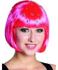 Paruka Diamond Trixy neon-pink