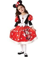 Rubies Minnie Mouse Winter Wonde - licenční kostým - LD 7 - 8 roků