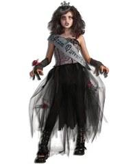 Rubies Goth Prom Queen - L 8 - 10 roků