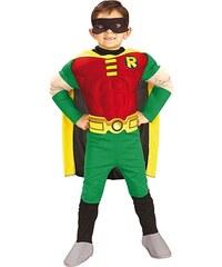 Rubies Deluxe Muscle Chest Robin - licenční kostým - L 8 - 10 roků