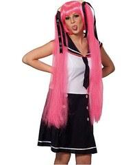 Sailor Space Girl pink - karnevalová paruka
