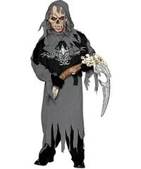 Grim Reaper - dětský kostým s maskou - M 5 - 7 roků