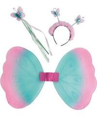 Motýlek set - křídla čelenka hůlka