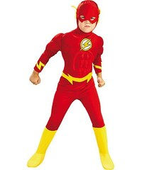 Rubies The Flash Deluxe - licenční kostým - L 8 - 10 roků