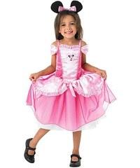 Rubies Minnie Mouse Pink Balerina - licenční kostým - LD 7 - 8 roků