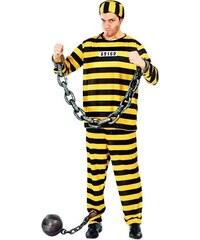 Fiestas Guirca Vězeň pruhovaný žlutý