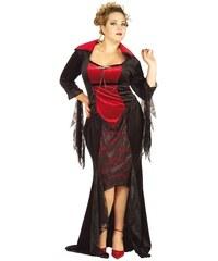 Karnevalový kostým Scarlet Vampira FC - XL