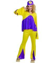 Fiestas Guirca Hippie - dámský karnevalový kostým