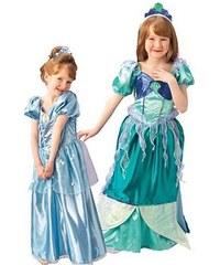 Rubies Kostým Ariel oboustranný - LD 7 - 8 roků