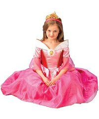 Rubies Kostým Sleeping Beauty Platinum - S 3 - 4 roky