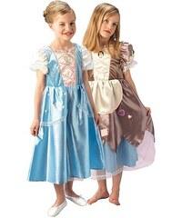 Rubies Cinderella - Popelka -oboustranný kostým - LD 7 - 8 roků