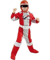 Rubies Power Ranger Red Muscle Chest - licenční kostým - L 8 - 10 roků