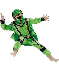 Rubies Kostým Power Ranger Green Boxset - licenční kostým - L 8 - 10 roků