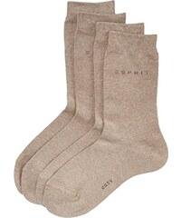 ESPRIT Damen Socken Basic Easy Doppelpack